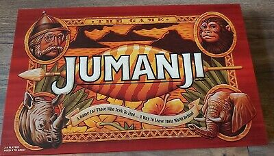 Jumanji Movie Board Game -- Family Board Game Excellent Condition , used once