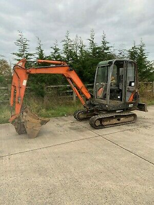 hitachi ex30 mini digger 2007