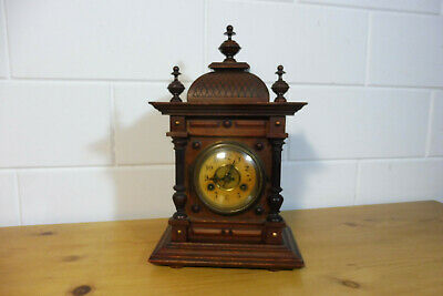 Antique German Table Clock Mantel Clock Junghans Clock Chime