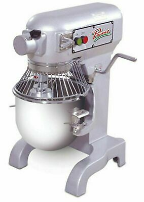 Primo PM-10 Planetary  Mixer 10 qt. Bench Model Gear Driven Transmission