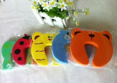 5pcs Door Stopper Animal Baby Security Card Protection For Children Tools Child