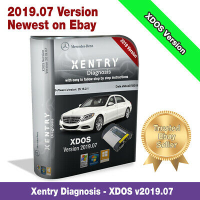 ☆Newest V2019.07 Xentry Diagnostic Software (XDOS Version) SD CONNECT C4/C5☆