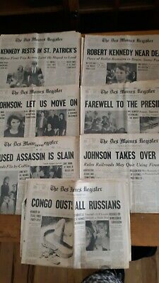 Kennedy newspapers Des Moines Tribune
