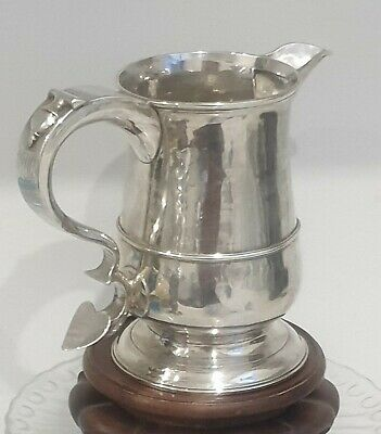Antique Substantial Newcastle Silver Mug Tankard Jug Langlands & Robertson 1784
