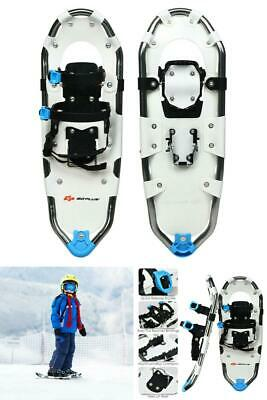 All Terrain Snowshoes With Adjustable Ratchet Bindings Aluminum Streamlined