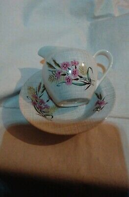JG Meakin sol milk jug and cereal bowl
