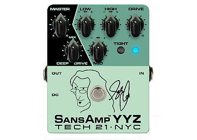 Tech 21 Geddy Lee Signature SansAmp YYZ Bass Pre-amp DEMO