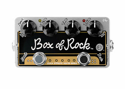 ZVEX Effects Vexter Box of Rock Overdrive GENTLY USED