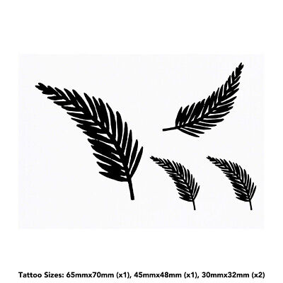 'Fern' Temporary Tattoos (TO006937)
