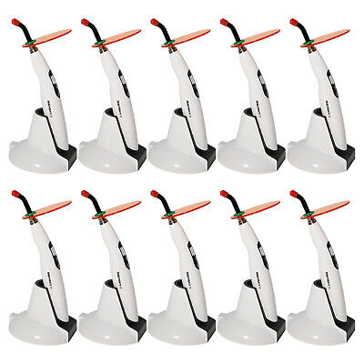 10pcs Dentaire Dental Curing Light LED Cure Lamp Cordless Wireless T4 SKYSEA