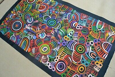 SELINA  NUMINA 135 x 80 cm Original Painting - Aussiepaintings Aboriginal Art