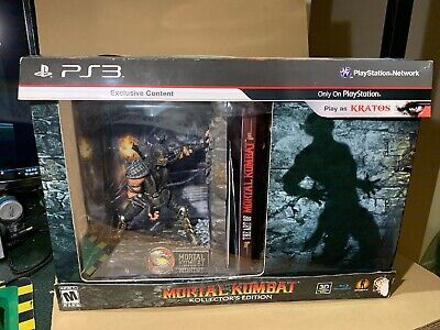 Mortal Kombat Kollector's Edition Ps3