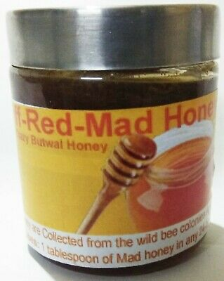 Wild Himalayan Cliff Mad Honey(115 Gram) From Butwal Nepal Hunting Honey