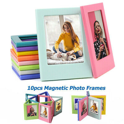 10PCS Instax Assorted Magnetic Photo Frame Fujifilm Mini Film Intax 9 8 7s 70 90