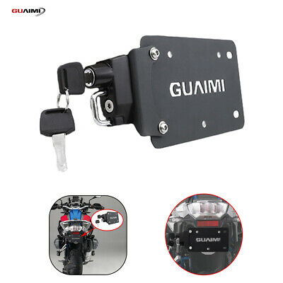 License Plate Helmet Security Lock Mount For BMW R1200GS LC R1250GS Adventure