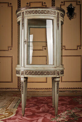 French Salon Cabinet in Louis Seize Style / Classicism