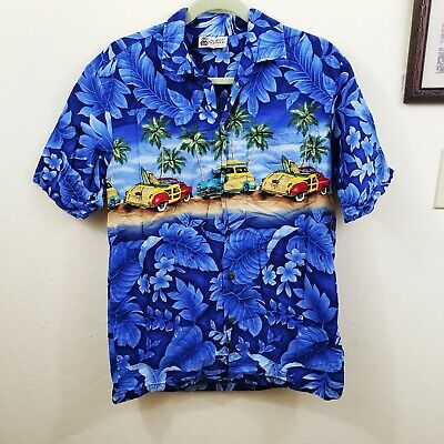 Alpha Beta Cotton Shark Mouth Hawaiian Shirt