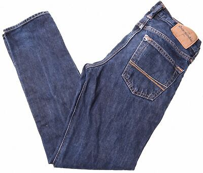 ABERCROMBIE & FITCH Boys Jeans 11-12 Years W26 L27 Blue Cotton Slim  MF08