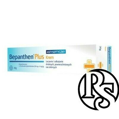 Bepanthen Plus Antiseptic Cream For Wounds