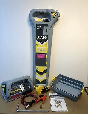 Radiodetection gCat4+ GPS Cable Avoidance Tool Genny4 12 Mths Cal 6 Mths Wrty