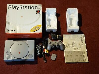 Sony Playstation 1 PS1 Console System - SCPH-5501 Complete in Box CIB