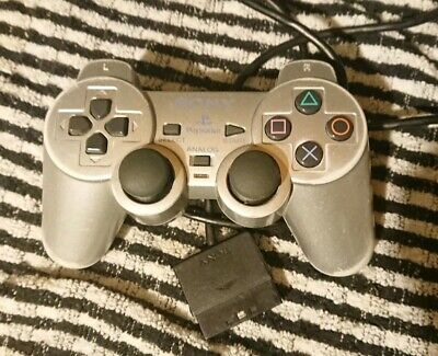 Official Sony PS2 DualShock Controller Silver