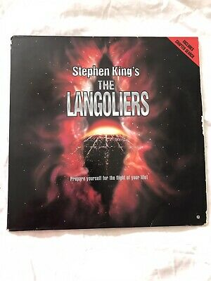 LASERDISC STEPHEN KING'S THE LANGOLIERS - WIDESCREEN EDITION Pre-Owned.