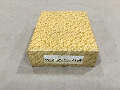 Box Of 50 Bussmann Buss Super-Lag Renewal Links LKS-100 600V #18G46