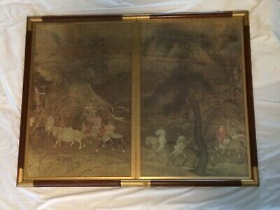 Vintage Tribute Horse Song Dynasty Reproduction Print of 11th C Chinese Original