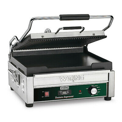 Waring WDG250T Dual Surface Panini Grill electric double