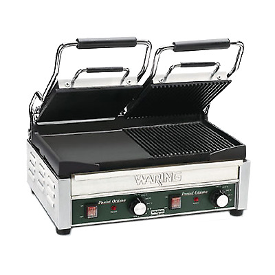 Waring WDG300 Dual Surface Panini Grill electric double