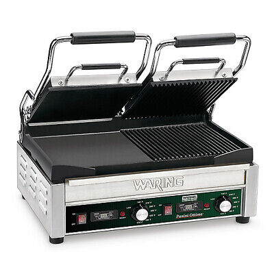 Waring WDG300T Dual Surface Panini Grill electric double
