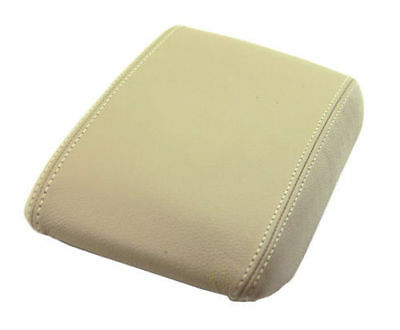 Beige Console Lid Armrest Cover Synthetic Leather For 95-01 Mercury Mountaineer