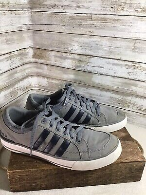 ADIDAS NEO LABEL Canvas Vl 3 Stripes Trainers Lifestyle
