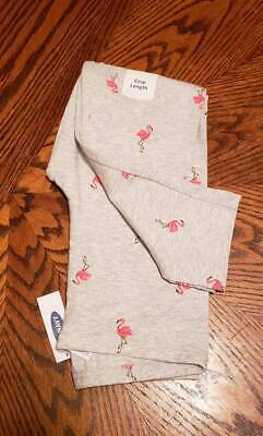 New With Tags Old Navy Girls  Flamingos Crop Leggings Size XS (5)
