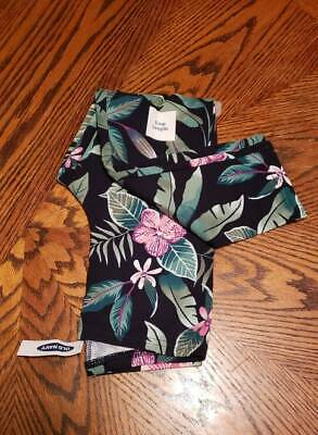 New With Tags Old Navy Girls  Floral Crop Leggings Size XL (14)