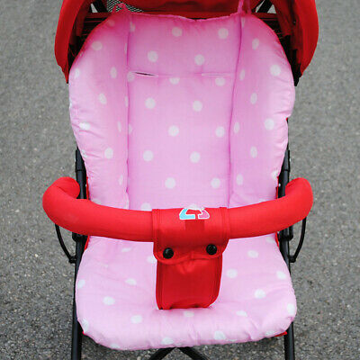 Baby Thick Pushchair Mat Dots Liner Cover Stroller Seat Cushion Cotton us