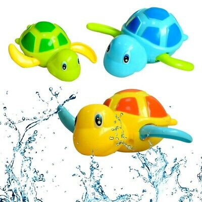 Modish Wind-up Swimmings Turtle Tortoise Pool Toy For Baby Kid Bath Bathtub Time