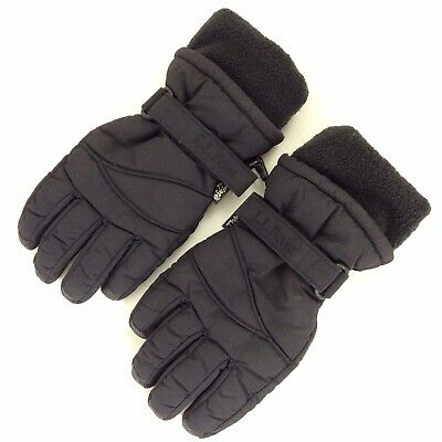 L.L Bean Kids Size M Black Gloves Thinsulate 150gm Thick & Warm Snow Ski