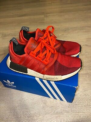 ADIDAS NMD R1 Geometric Red Camo size 10 $29.51 PicClick  PicClick