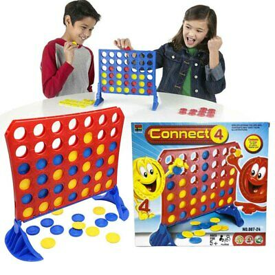 Connect 4 Classic Grid Board Game by HASBRO Family Kids Game Fun