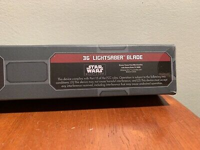 "Star Wars Galaxy's Edge 36"" Lightsaber Blade for Legacy Hilt NEW & SEALED"