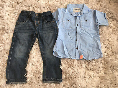 Boys Jeans And Shirt From Next Age 2-3 Years