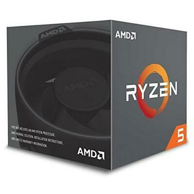 AMD Ryzen 5 2600 CPU with Wraith Cooler AM4 3.4GHz (3.9 Turbo) 6-Core 65W 19MB C