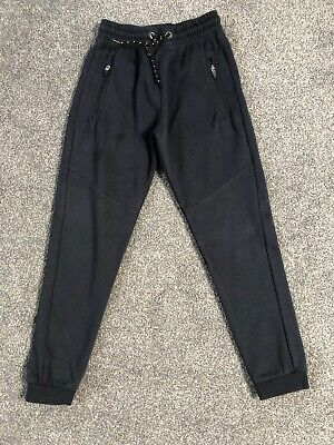 Exc Next Boys Navy Blue Jogging Joggers Sweat Bottoms Trousers Age 10
