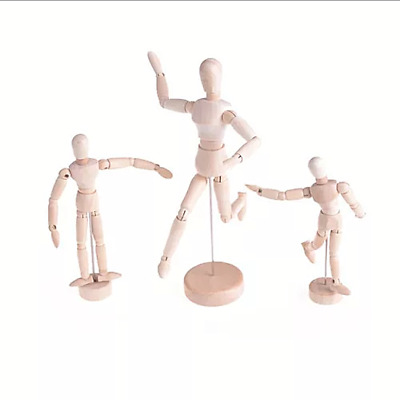 2018 New Arrival Drawing Model Wooden Human Male Manikin Jointed Mannequin