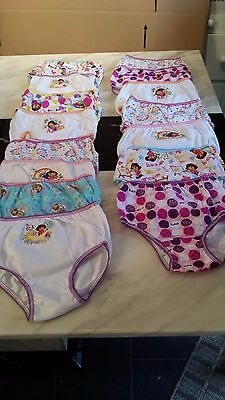 New Carter's 15 Pairs of Girls Cotton Briefs - Age 4 Disney/Character Theme