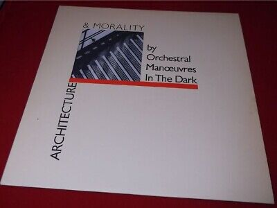 Orchestral Manoeuvres in the Dark:  Architecture & Morality  1981 NEAR MINT LP