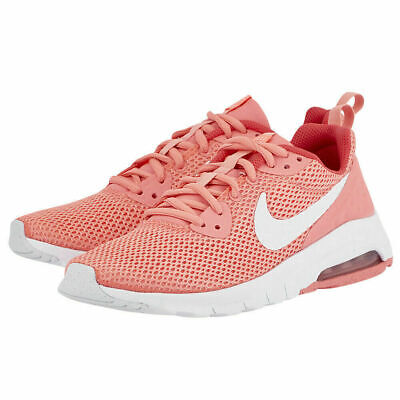 Girls Nike Air Max Motion LW (GS) Trainers Shoes Pink Peach White 917654 601