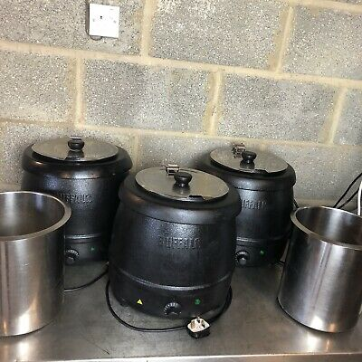 Buffalo Soup Kettle Bundle (Model L715) / 2 Spare Pots Included